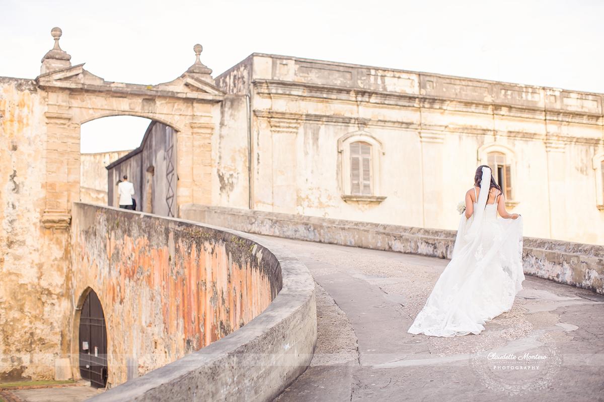 Puerto Rico Wedding At Antiguo Casino And Old San Juan Cathedral